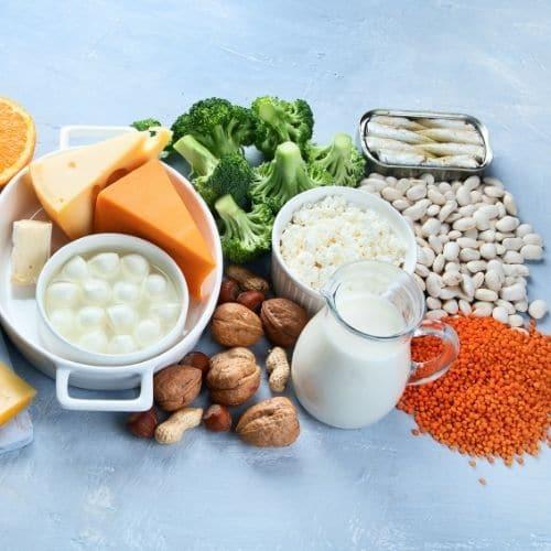 calcio dieta per osteoporosi